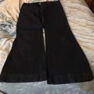 Banana Republic Flair Fit Dressy Jeans Size 10